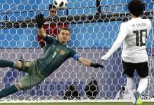 Igor Akinfeev ainda não fez uma defesa em duas jornadas do Mundial'2018