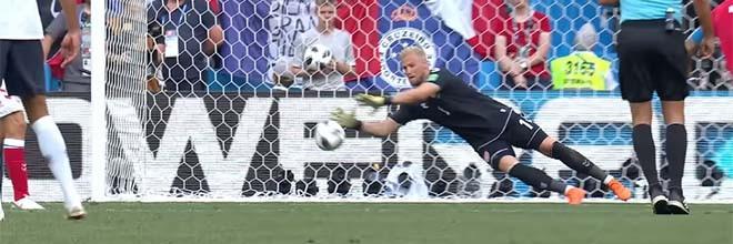 Kasper Schmeichel e Steve Mandanda intervêm em dificuldade – Dinamarca 0-0 França