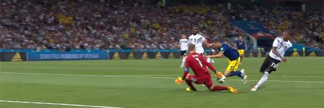Manuel Neuer e Robin Olsen evitam três golos – Alemanha 2-1 Suécia