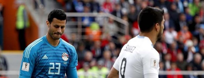 Mohamed El-Shenawy v. Fernando Muslera – Egipto 0-1 Uruguai – Estatísticas