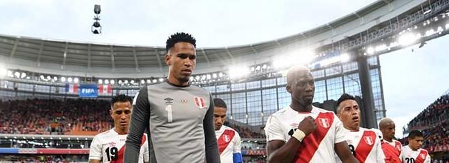 Hugo Lloris v. Pedro Gallese – França 1-0 Peru – Estatísticas