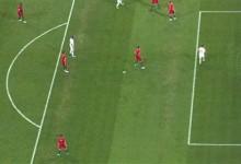 Rui Patrício desvia remate para a trave – Portugal 3-3 Espanha