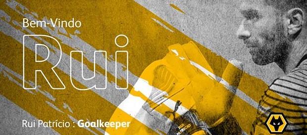 Rui Patrício assina pelo Wolverhampton FC