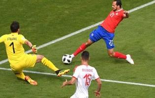 Keylor Navas v. Vladimir Stojkovic – Costa Rica 0-1 Sérvia – Estatísticas