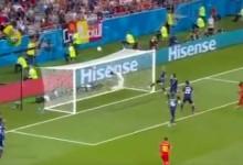 Eiji Kawashima em dupla-defesa para o espetáculo – Bélgica 3-2 Japão