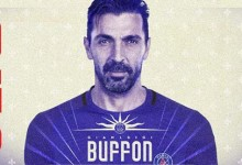Gianluigi Buffon assina pelo PSG