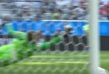 Jordan Pickford aparece em defesa vistosa a adiar derrota e quarto lugar da Inglaterra no Mundial'2018