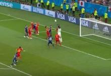Thibaut Courtois decisivo em várias defesas e a lançar golo decisivo – Bélgica 3-2 Japão