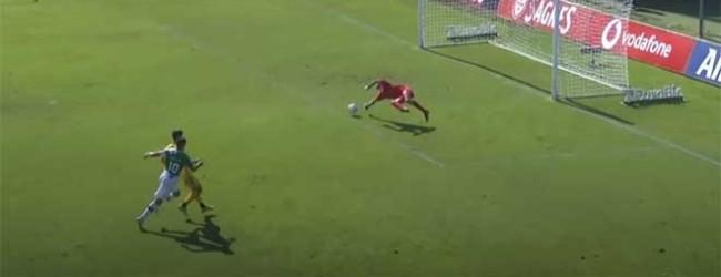 Daniel Guimarães defende em quatro momentos – CD Nacional 1-2 Moreirense FC