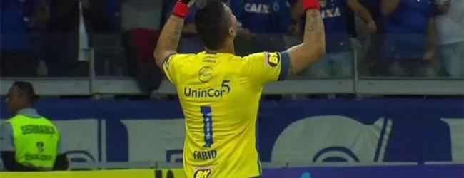 Fábio Deivson defende três penaltis e leva Cruzeiro EC à meia-final da Copa do Brasil