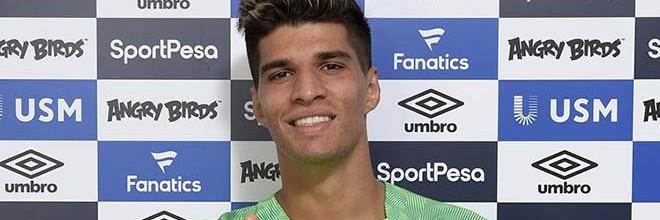 João Virgínia assina pelo Everton FC
