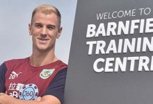 Joe Hart assina pelo Burnley FC