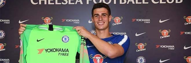 Kepa Arrizabalaga assina pelo Chelsea FC por 80 milhões e é o guarda-redes mais caro de sempre