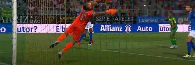 Muriel Becker fecha a baliza numa defesa vistosa – CD Tondela 0-1 Os Belenenses SAD