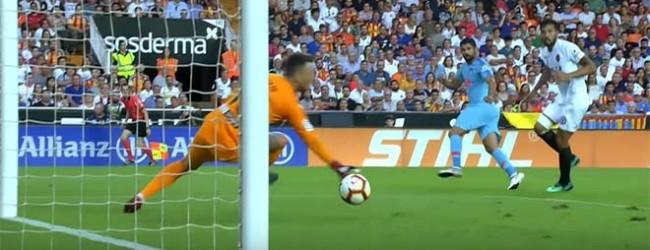 Neto Murara destaca-se em desvio de qualidade – Valencia CF 1-1 Atlético de Madrid