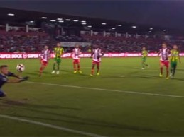 Quentin Beunardeau resvala remate – CD Aves 2-2 CD Tondela