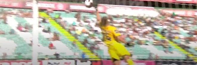 Quentin Beunardeau destaca-se em duas defesas de velocidade de execução – Vitória FC 2-0 CD Aves