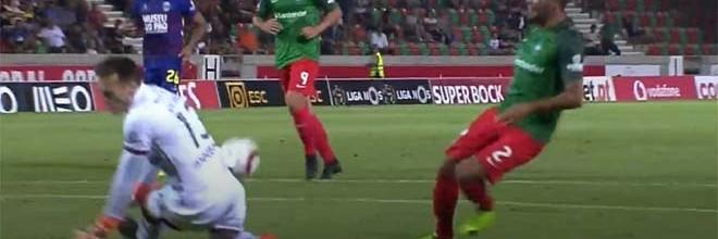 Ricardo Nunes evita três golos antes de sofrer – CS Marítimo 2-1 GD Chaves
