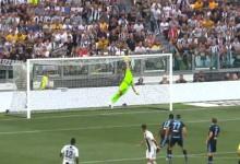Thomas Strakosha voou para evitar o primeiro golo de Cristiano Ronaldo – Juventus FC 2-0 SS Lazio