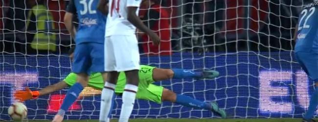 Pietro Terraciano destaca-se em duas defesas espetaculares – Empoli FC 1-1 AC Milan