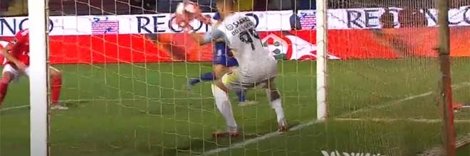 Odisseas Vlachodimos destaca-se com três defesas em quinze minutos – GD Chaves 2-2 SL Benfica