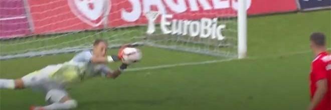 Odisseas Vlachodimos fecha a baliza em dois desvios – CD Nacional 0-4 SL Benfica