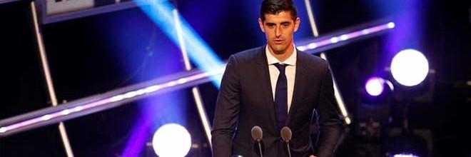 Thibaut Courtois vence prémio FIFA para melhor guarda-redes de 2018