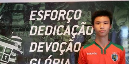 Yee Sun Ng: Sporting CP contrata guarda-redes de quinze anos e 1,95 metros
