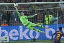 Marc-André Ter Stegen brilha em duas duplas-defesas espetaculares – FC Barcelona 4-2 Sevilla FC