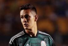 Raúl Gudiño estreou-se pela seleção do México