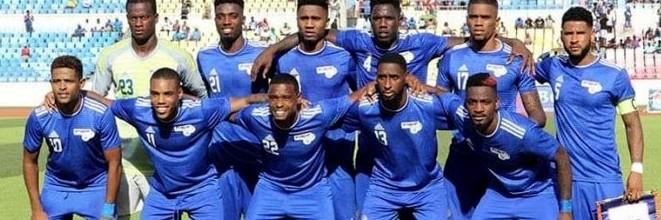 Thierry Graça debutou pela seleção de Cabo Verde ao fechar a baliza contra a Tanzânia (3-0)