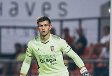 Tiago Sá segue sem sofrer desde a estreia pelo SC Braga na Primeira Liga há três jogos