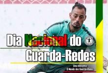"""Beto Pimparel festeja o Dia Nacional do Guarda-Redes: """"Aquele que vibra e chora sozinho"""""""