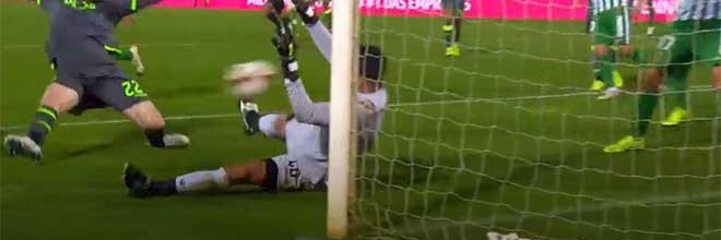 Renan Ribeiro consegue fazer dupla-defesa – Rio Ave FC 1-3 Sporting CP