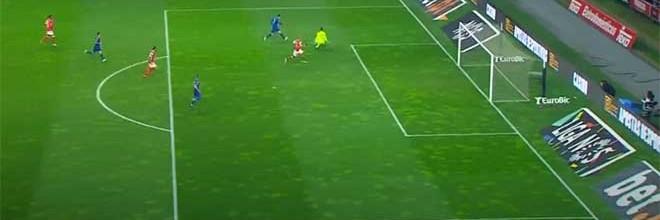 Tiago Sá tranca a baliza duas vezes em curtas distâncias – SC Braga 2-0 Moreirense FC