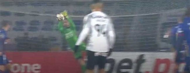 António Filipe resvala remate em defesa vistosa – GD Chaves 0-0 CD Feirense