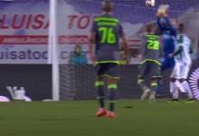 Cristiano Figueiredo assegura empate com duas defesas no final – Vitória FC 1-1 Sporting CP
