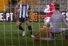 Ricardo Ferreira evita vários golos e destaca-se aos 90 minutos após precipitação – Portimonense SC 1-1 SC Braga