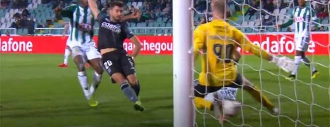 Giorgi Makaridze estreia-se e impede segundo golo com o pé – Vitória FC 1-1 Vitória SC