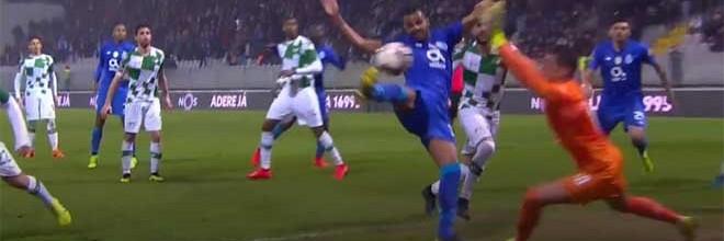 Jhonatan Luiz impede dois golos e garante ponto no último lance – Moreirense FC 1-1 FC Porto