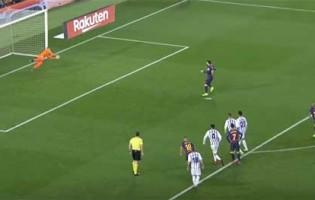 Jordi Masip defende penalti de Lionel Messi e faz outras defesas de nível – FC Barcelona 1-0 Valladolid