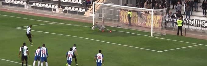 Mouhamed Mbaye defende grande penalidade e destaca-se em outras defesas – SC Farense 0-0 FC Porto B