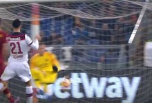 Robin Olsen aparece em três defesas – AS Roma 2-1 Bologna FC