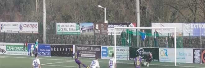Rui Capela destaca-se em penalti defendido além de outras intervenções – AD Limianos 1-4 Pedras Salgadas
