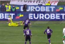 Andrea Consigli defende segunda grande penalidade em três jogos – Fiorentina 0-1 Sassuolo