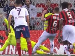 Brice Samba defende grande penalidade e faz dupla-defesa decisiva – OGC Nice 0-1 SM Caen