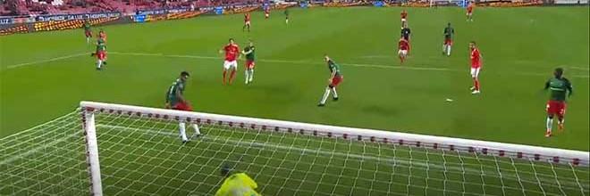 Charles Marcelo evita mais cinco golos – SL Benfica 6-0 CS Marítimo