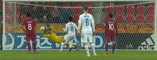 Shehab Mamdouh defende grande penalidade e evita outros golos – Estados Unidos 1-0 Qatar (Mundial sub-20)