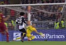 Antonio Mirante faz duas defesas espetaculares com chance reduzida – AS Roma 2-0 Juventus FC