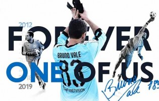 Bruno Vale despede-se do Apollon FC após sete anos e clube retira o número do guarda-redes